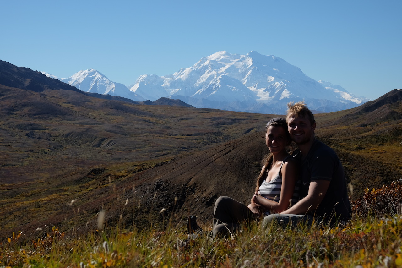 When hiking in denali national park you will be able to see north americas highest mountain