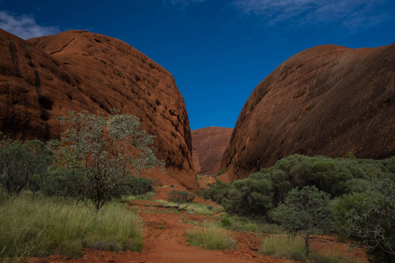 Visiting Kata Tjuta is a must do for any outback roadtrip.