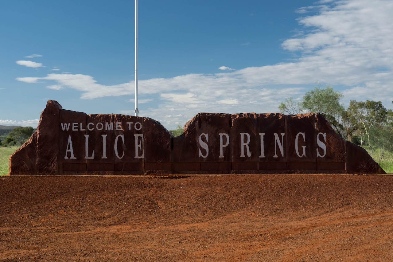 Alice Springs is a great base for an outback roadtrip.