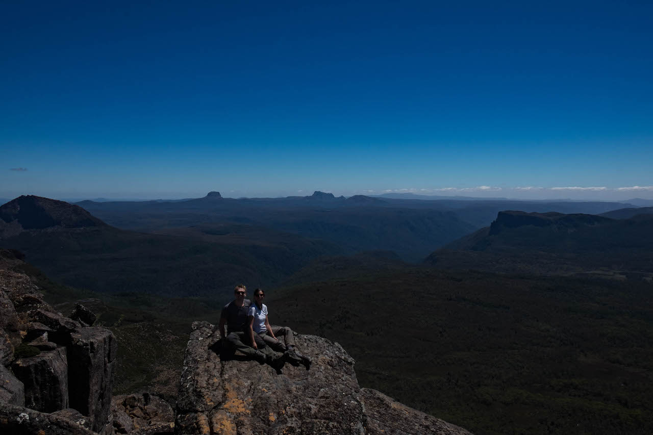 Hiking the Overland Track and climbing Mt Ossa