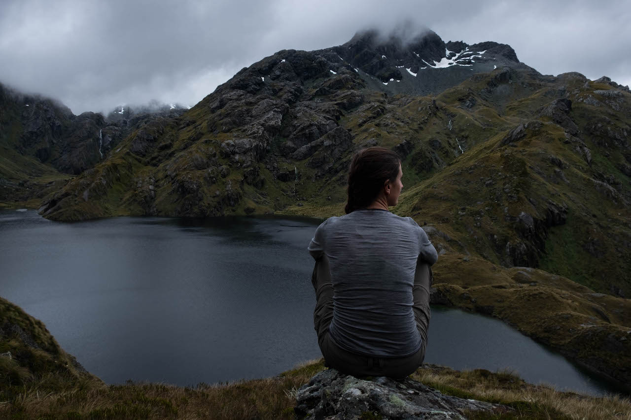 Merino wool is the perfect base layer for the Kepler Track