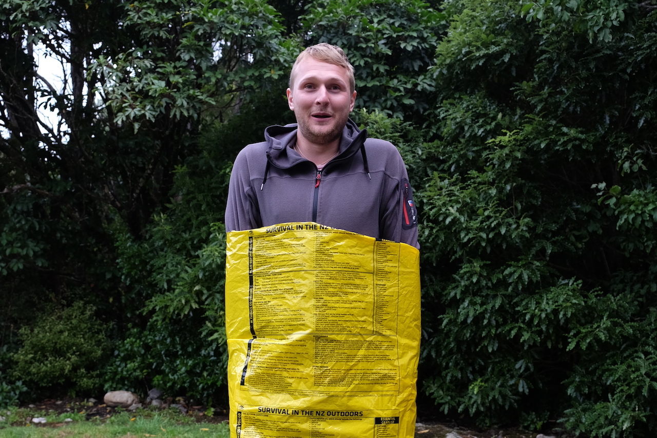Packcovers are useless on the Kepler Track, you should opt for a packliner.